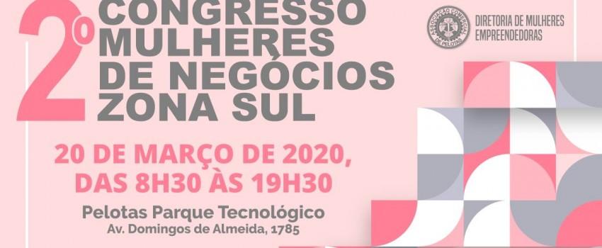 2ª edição do Congresso Mulheres de Negócios Zona Sul