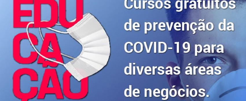 Curso gratuito:  Prevenção ao Covid-19